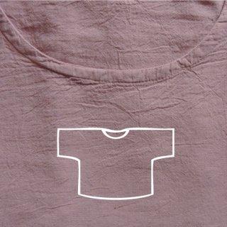 Tシャツ ショート 薄ピンク