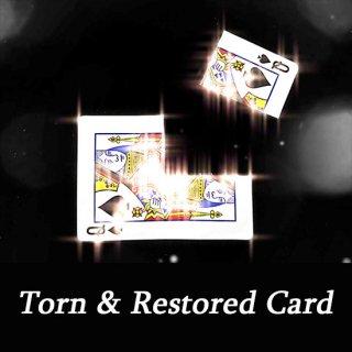 Torn & Restored Card〜バラバラのカードが元に戻る!〜