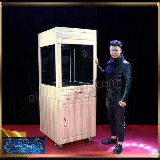 ショーケーススルーイリュージョン〜Showcase Thru Illusion〜 ショーケースに入った物をガラス越しに取り出す!セロがテレビで演じたイリュージョン!!!