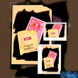 カードtoティーバッグ〜Card to Tea Bag〜カードが一瞬でティーバッグに!?
