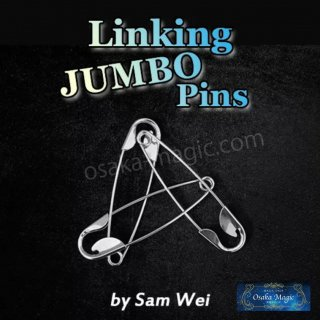 リンキングジャンボピンズ〜Linking Jumbo Pins by Sam Wei〜特別なスキルを必要としない超視覚的マジック!