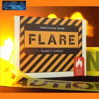 フレア〜Flare By Nicholas Lawrence〜火の玉噴射機!なるべく派手に見えるように精密設計!