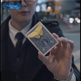 メモカード〜Skymember Presents Memo Card〜メモ用紙が一瞬でオリガミの蝶に!メモ用紙が変化する現象!
