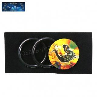 マジカルリング&コイン〜Magical Ring & Coin〜リングを乗せるとコインが消失!超簡単に出来る子供向けマジック♪