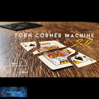 トーンコーナーマシーン2.0〜Torn Corner Machine(TCM) 2.0 by Juan Pablo〜破ったカードがあり得ない場所から出現!2.0は演技に使うカードの作り方も解説!!!