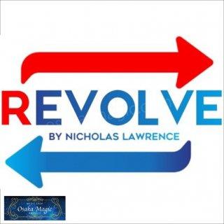 リバルブ〜REVOLVE by Nicholas Lawrence〜四つ折りのカードがクリアに瞬間変化!!!