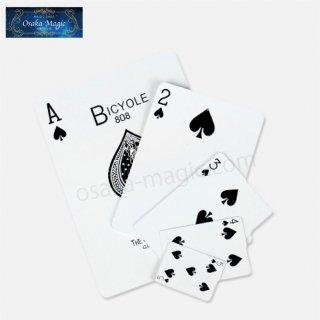 サイズサプライズ〜Size Surprise〜1〜5の中で1番大きいカードは!?