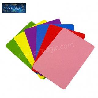レインボーカード〜Rainbow Cards〜観客のカードが手の感覚で分かる!教室用の20個セットもあり!