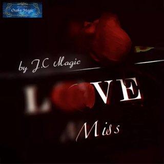 ミス 〜Miss by J.C Magic〜グリーティングカードからバラが出現!美しいマジック♪