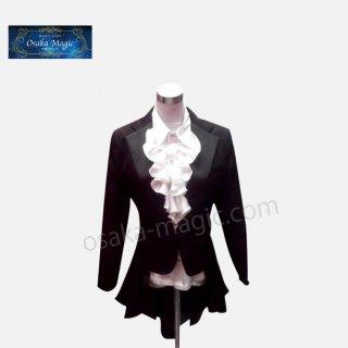 女性マジシャン用テールコート〜Tailcoat for Girl Magician〜ハトポケットやテールポケットが付いた女性マジシャン用のオーダーメイドテールコート!!!キュートなデザイン♪
