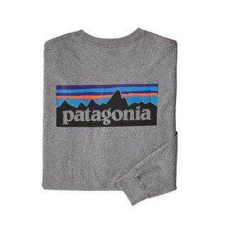 パタゴニア メンズ・ロングスリーブ・P-6ロゴ・レスポンシビリティー  GLH(S)