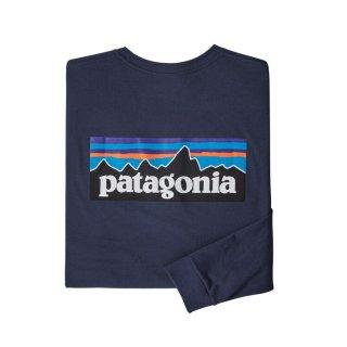 パタゴニア メンズ・ロングスリーブ・P-6ロゴ・レスポンシビリティー  CNY(XS)(S)(M)(L)