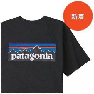 パタゴニア メンズ・P6ロゴ・ポケット・レスポンシビリティー BLK(XS)(M)(L)
