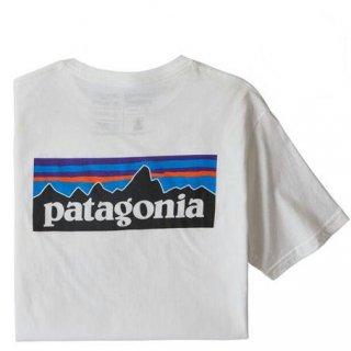 パタゴニア メンズ・P-6ロゴ・レスポンシビリティー  WHI(XS)(S)(M)(L)(XL)