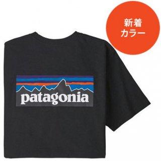 パタゴニア メンズ・P-6ロゴ・レスポンシビリティー  BLK(XS)(S)(M)(L)(XL)