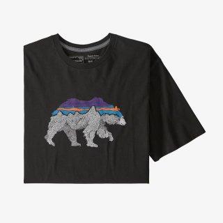 パタゴニア メンズ・バック・フォー・グッド・オーガニック・Tシャツ BLKB (M)
