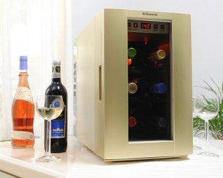 ワインセラー ドメティック DW6 シャンパンゴールド(6本収納タイプ)