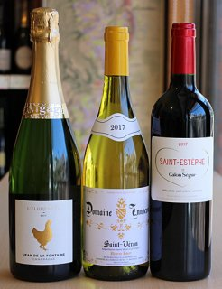王道の銘醸フランスワイン3本セット