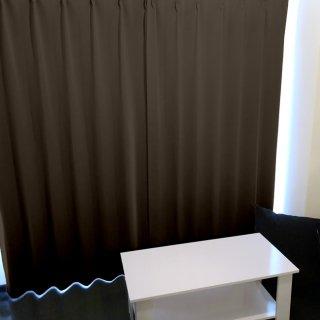 【遮光カーテン】遮光1級/遮熱/防炎機能付 出窓もOKのおしゃれなオーダーカーテン <tea party - チョコレートモカ> ブラウン