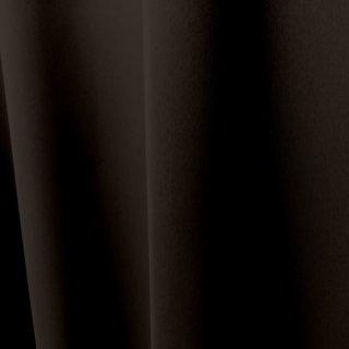 【遮光カーテン】遮光1級/遮熱/防炎機能付 出窓もOKのおしゃれなオーダーカーテン <tea party - エスプレッソ> ブラウン