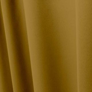 【遮光カーテン】遮光1級/遮熱/防炎機能付 出窓もOKのおしゃれなオーダーカーテン <tea party - ハニージンジャー> イエロー