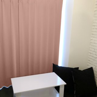 【tea party - いちごみるく】 クラシックな遮光1級カーテン 防炎/遮熱/保温 おしゃれなインテリアにおすすめの国産オーダーカーテン 寝室や出窓、カフェカーテンにも◎
