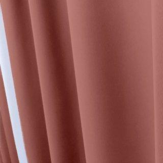 【tea party - サーモンパスタ】 クラシックな遮光1級カーテン 防炎/遮熱/保温 おしゃれなインテリアにおすすめの国産オーダーカーテン 寝室や出窓、カフェカーテンにも◎