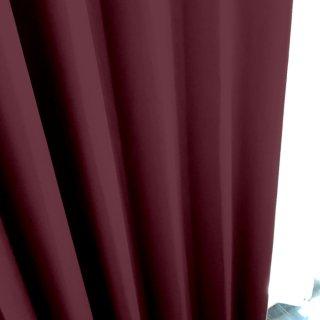 【遮光カーテン】遮光1級/遮熱/防炎機能付 出窓もOKのおしゃれなオーダーカーテン <tea party - スイートポテト> パープル