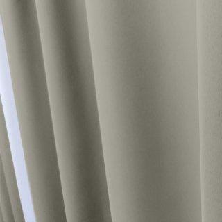 【遮光カーテン】遮光1級/遮熱/防炎機能付 出窓もOKのおしゃれなオーダーカーテン <tea party - シルバースプーン> グレー