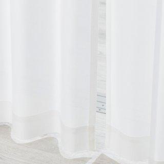 【防炎レースカーテン】防炎/遮熱/遮像/UVカット <ビアンカ>