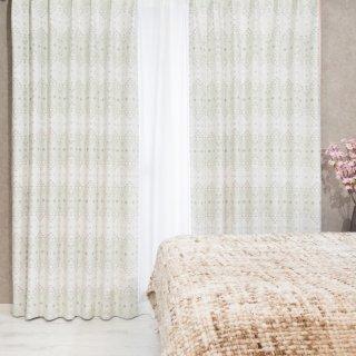 【可愛いプリントカーテン】カントリー調のおしゃれなデザイン 遮光2級付 <スクアマ ピンク>