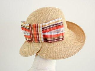 ペーパーブレードの麦わら帽子 デイジー Daisy