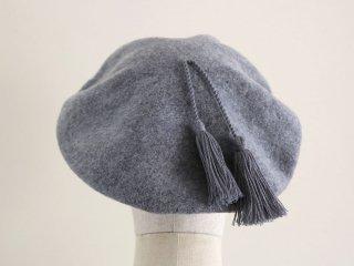 グレータッセルつきベレー帽