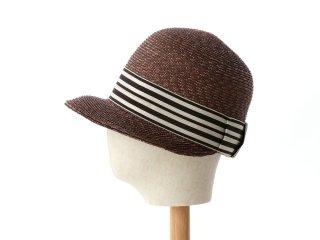 こつばの麦わら帽子 ジジ ブラウン Gigi Brown