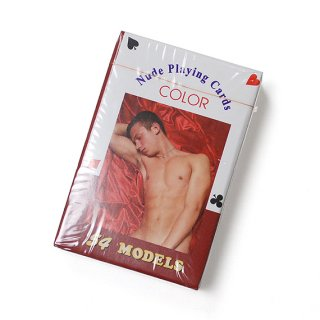 NUDE PLAYING CARD/MAN