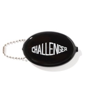CHALLENGER/RUBBER COIN CASE/ブラック