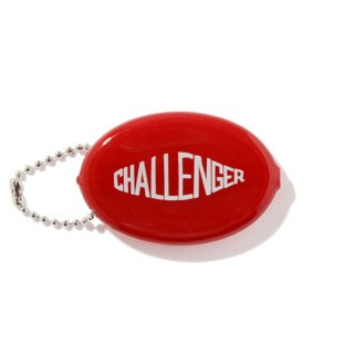 CHALLENGER/RUBBER COIN CASE/レッド
