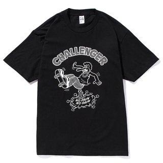 CHALLENGER/xSKETCH POPS UP TEE/ブラック