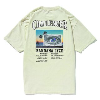 CHALLENGER/EYE AND THE EARTH TEE/ライトグリーン