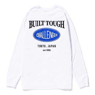 CHALLENGER/L/S OVAL LOGO TEE/ホワイト