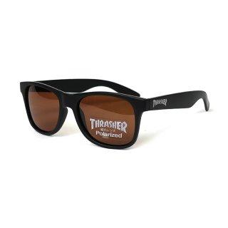 THRASHER/SUNGALASSES/RADICAL/偏光レンズ/ブラック×ブラウン