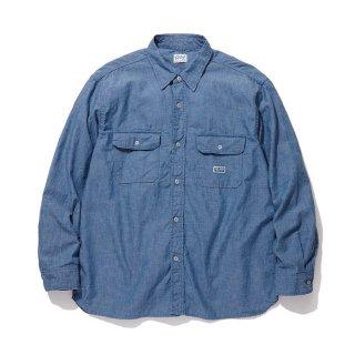 RADIALL/T.N. WORK SHIRT L/S/ブルー