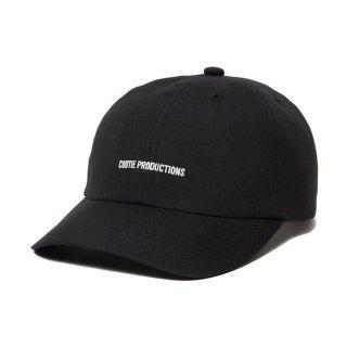 COOTIE/T/R 6 PANEL BRIM CAP/ブラック