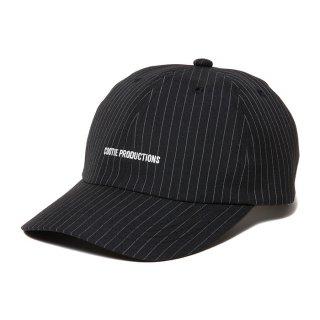 COOTIE/T/R 6 PANEL BRIM CAP/ブラックストライプ
