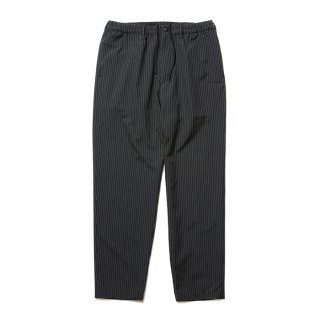 COOTIE/T/R TAPERED EASY PANTS/ブラックストライプ