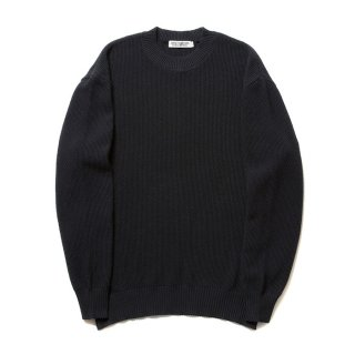 COOTIE/SEED STITCH KNIT SWEATER