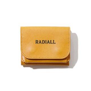 RADIALL/PLAIN-TRIFOLD WALLET/マスタード