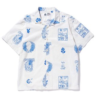 CHALLENGER/S/S FIRE LADY SHIRT/ホワイト