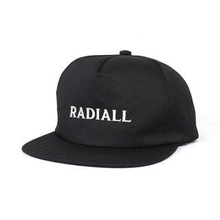 RADIALL/CVS TRUCKER CAP/ブラック