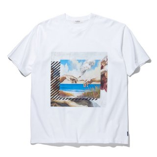 RADIALL/HEAVEN'S DOOR-CREW NECK T-SHIRT S/S